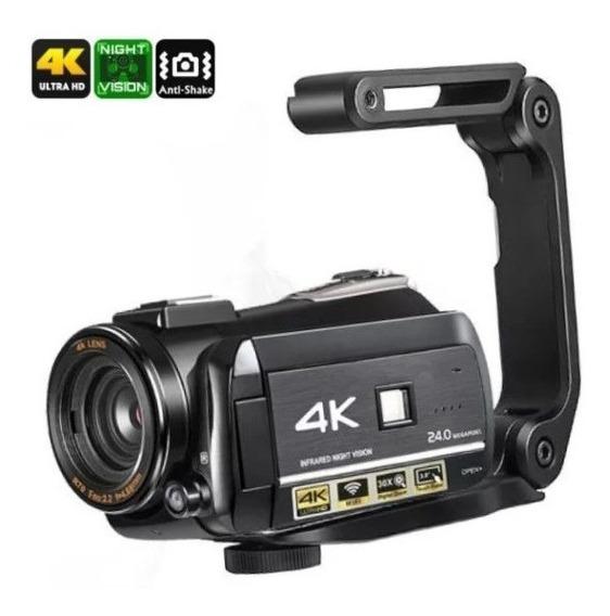 Filmadora Ordro Ac3 4k V. Noturna 30x Zoom Com Estabilizador