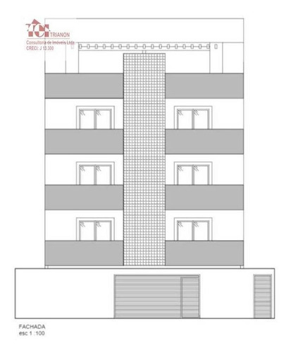 Apartamento Com 2 Dormitórios À Venda, 46 M² Por R$ 290.000,00 - Vila Scarpelli - Santo André/sp - Ap3085