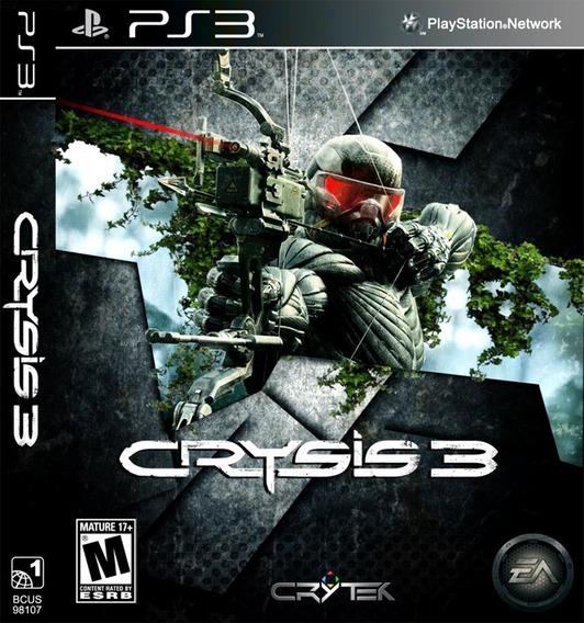 Crysis 3 Ps3 Psn Digital Envio Na Hora