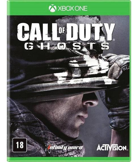 Jogo Novo Lacrado Call Of Duty Ghosts Para Xbox One