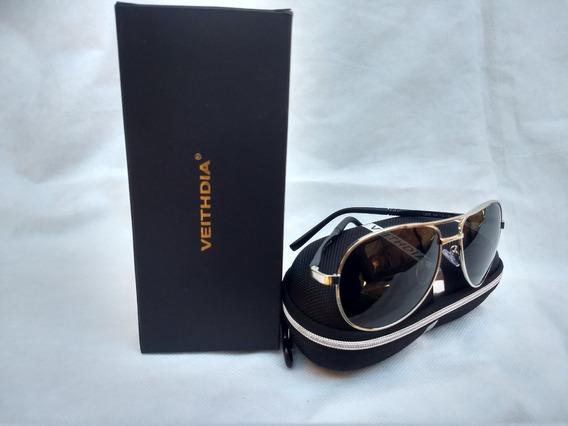 Óculos Veithdia 1306 Aviador Poloarizado