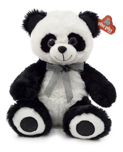 Oso Panda De Peluche  30 Cm. Animales Phi Phi Toys