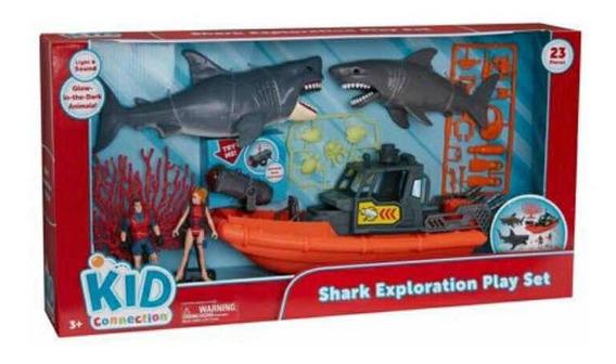 Juego Submarino De Bote Y Tiburones (stark Exploration Play)