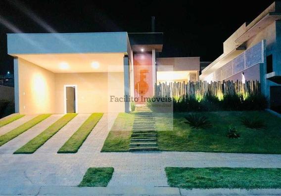 Casa Em Condomínio De Alto Padrão Portal De Bragança Horizonte - 1669