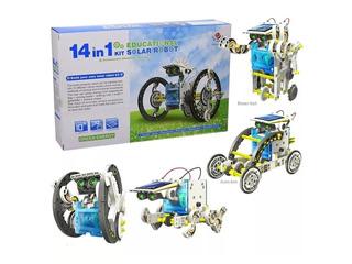 Juguete Educativo Kit Solar 14 En 1 Robotica