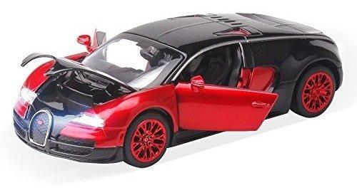Nuevo Estilo 1:32 Bugatti Veyron Aleacion Diecast Modelo De