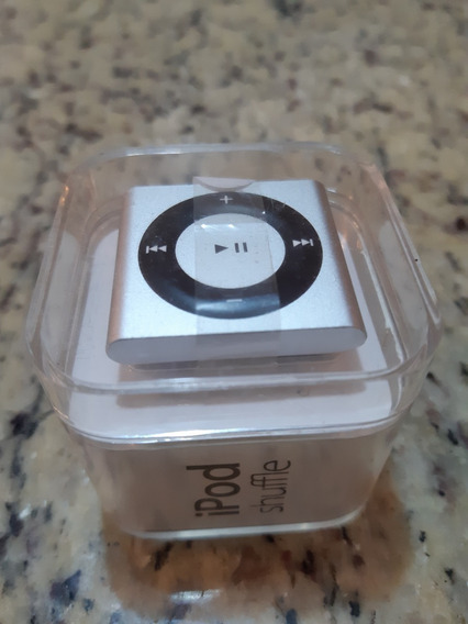 iPod Shuffle 2gb Silver Mp3 Player - 4th