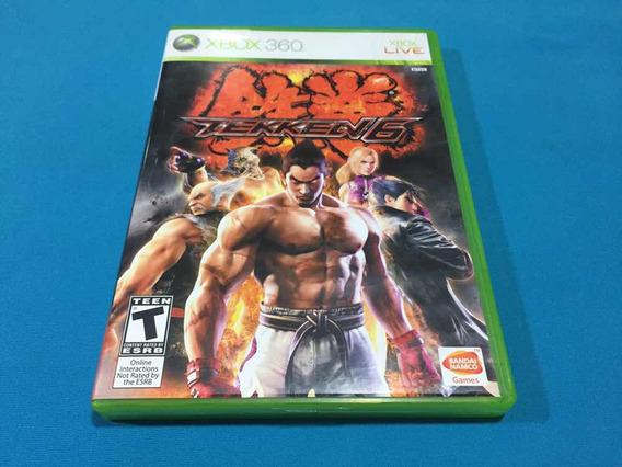 Tekken 6 - Origina Xbox360 Completo Jogo Usado