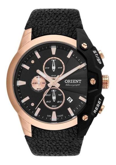 Relógio Orient Masculino Ref: Mrscc019 P1px Cronógrafo Rosé