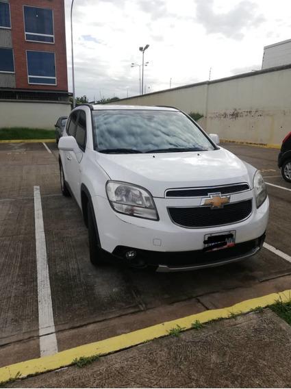 Chevrolet Orlando, 2013, Color Blanco. Único Dueño