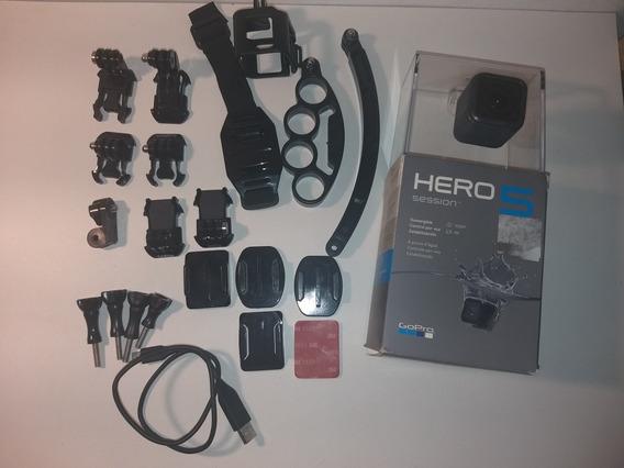 Gopro Hero 5 Session + Acessórios