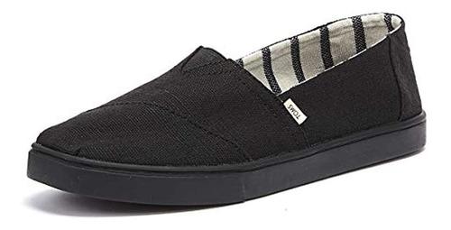 Zapatillas Toms Alpargata Cupsole Para Hombre, Negro