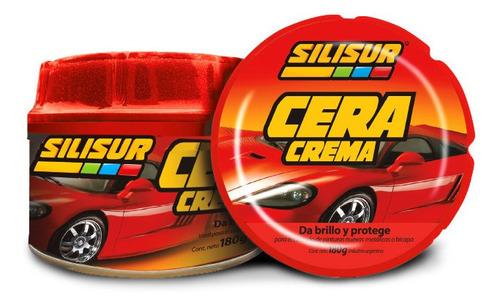 Silisur Cera Auto Premium Pasta 180g Profesional