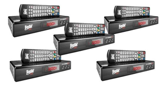 5 Receptores Digital Analógico Hd Smart Bedin Sat Bs-9100