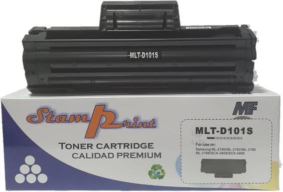 Toner Samsung Compatible 101 Mlt-d101s Ml-2165 Scx 3405w