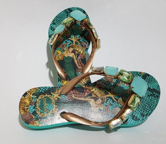 Sandália De Praia Indaiá 37/38 Nova Linda!!!
