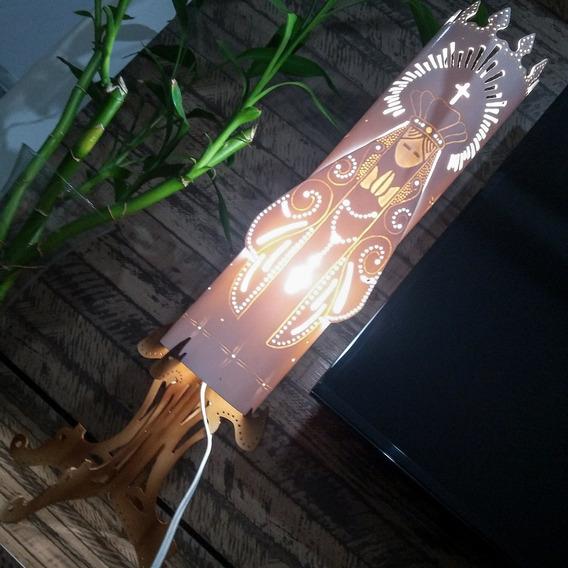 Luminária Nossa Senhora Aparecida Decoração Altar Abajur Luz