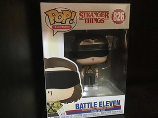 Funko Pop, Stanger Things Netflix,batthle Eleven Vinil, 826.