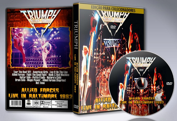 Dvd Triumph - Civic Center Live 1982