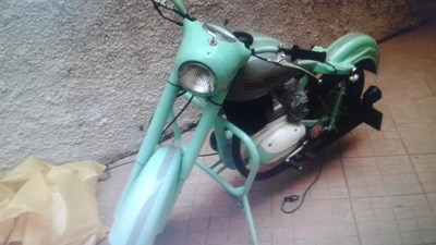 Jawa 1951 Motocicleta Antiga De Coleçao