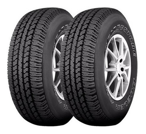 Combo X2 265/65 R17 Bridgestone Dueler At693 - Daytona