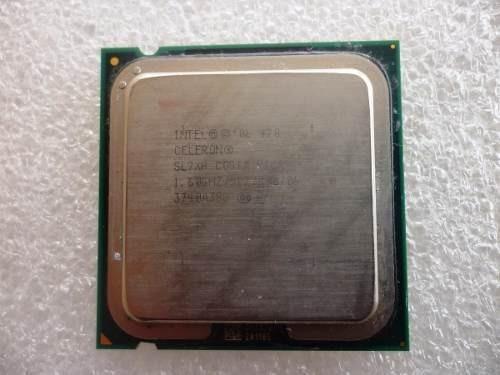 Processador Intel Celeron 420 Sl9xp 1600/512/800