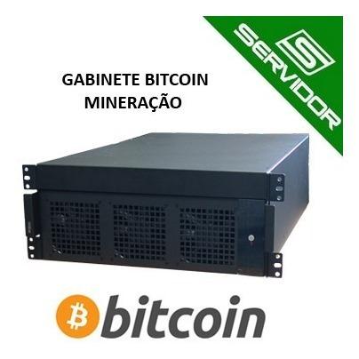 Gabinete Rack 19 M-atx Mineracão Bitcoin - Criptomoeda