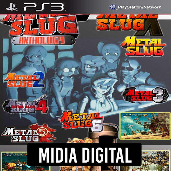 Ps3 - Metal Slug Collection - 1 Ao 6 E X