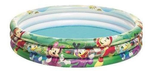 Piscina Inflable Bestway Mickey 3 Anillos - 91007