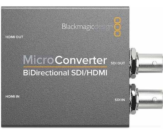 Blackmagic Micro Converter Bidirectional Sdi/hdmi Sem Fonte
