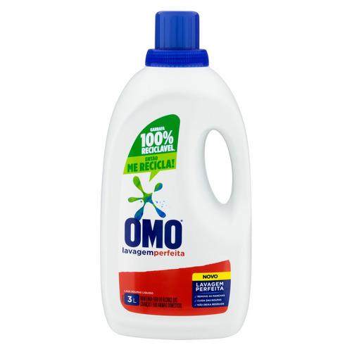 Sabão líquido Omo Lavagem Perfeita galão 3L