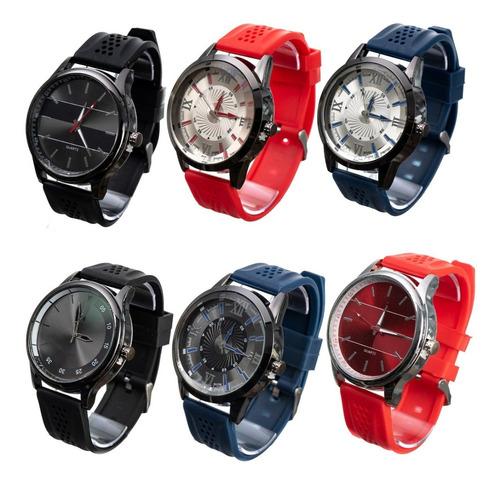 Promoção 12 Relógios Masculino Atacado Revenda + Caixa