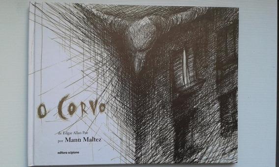 O Corvo - Edgar Allan Poe/ Manu Maltez