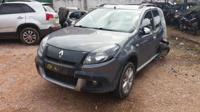 Sucata Renault Sandero Stepway Motor/cambio/lataria P/ Peças