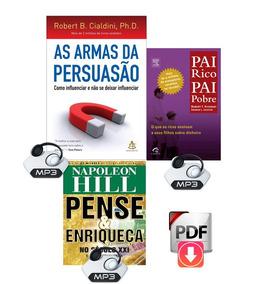 As Armas Da Persuasão + Brindes De Sucesso - Kit Promocional