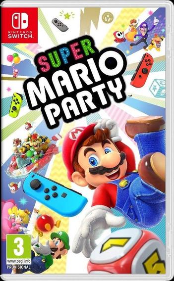 Mario Party - Nintendo Switch Mídia Física