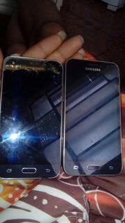 J1 Celular Samsung J120 Com Defeito Display Queimado
