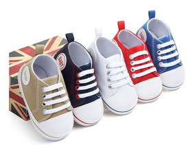 Sapato Bebe Unissex Liso Tecido Novo Envio Imediato