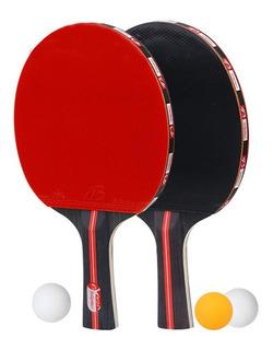 Cowalkers Juego De Palas De Ping Pong - Incluye 2 Paletas/ra