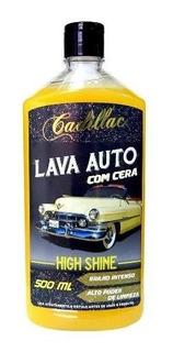 Shampoo Automotivo Concentrado Com Cera Lava Auto Cadillac