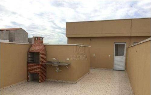 Cobertura Com 2 Dormitórios À Venda, 100 M² Por R$ 300.000,00 - Jardim Ana Maria - Santo André/sp - Co5368
