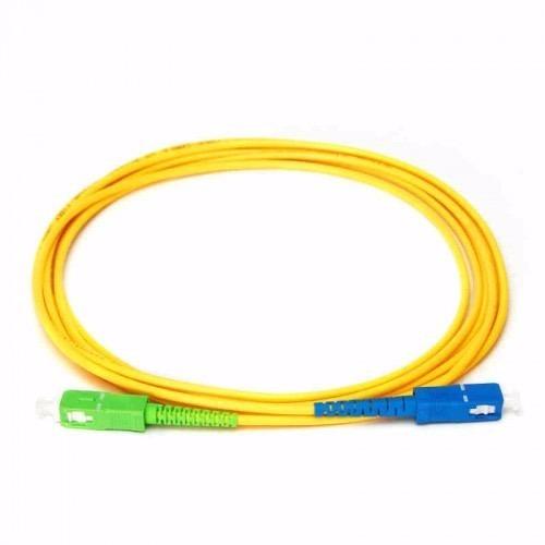 12 Cordão Óptico Patch Cord Sc/apc X Sc/upc 3mm 2mt