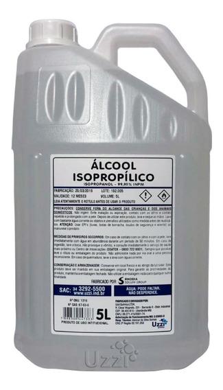 Alcool Isopropílico Limpa Placas Rhodia - 5 Litros