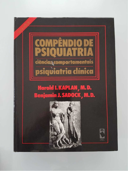 Livro Compêndio De Psiquiatria - Kaplan & Sadock - 6ª Ed