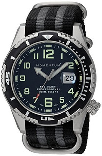 Reloj Deportivo Para Hombres | M50 Nylon Dive Watch Por Mome