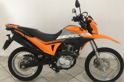 Motocicleta Honda Nxr 160 Bros 2019 Laranja