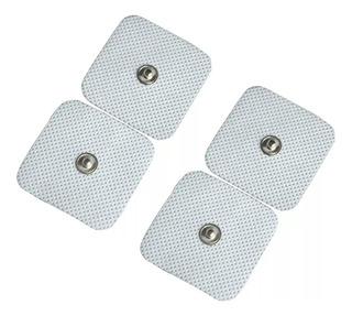 4 Und Electrodos Parche 5x5 Cm Estimulador Muscular Tens Ems