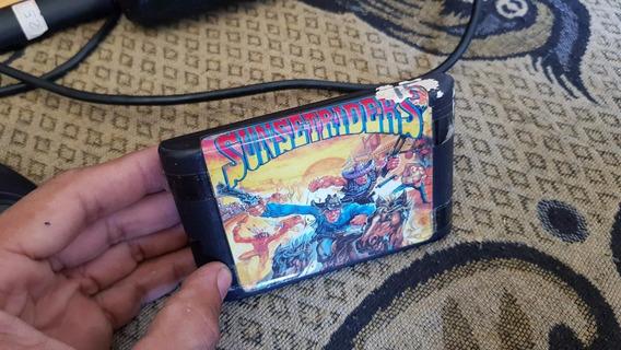 Sunset Riders Para O Mega Drive Td Ok K1