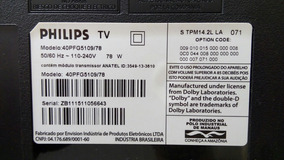 Alto Falante Tv Philips Modelo 40pfg5109/78.