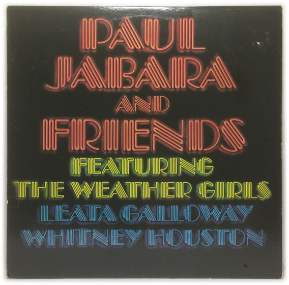 Vinilo Paul Jabara And Friends Featuring The Weather Girls